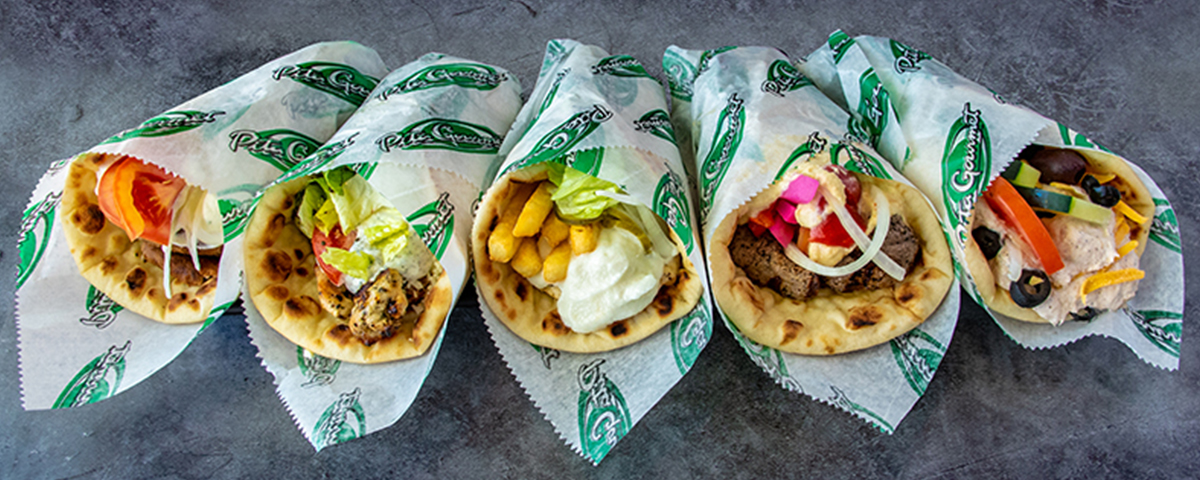 Pita Gourmet Food Photography - Pita Wraps - Manzella Marketing Buffalo, NY