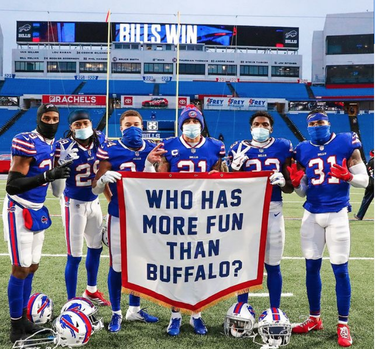 Who has more fun than Buffalo?